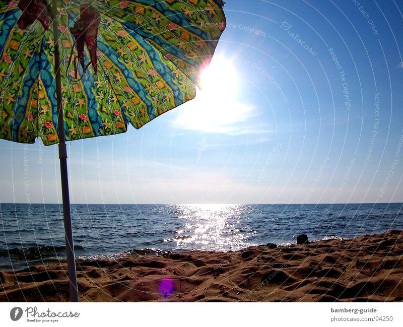 Sun Ocean Summer Beach Vacation & Travel Sand Coast Longing Bikini Sunshade Greece Weather protection Corfu
