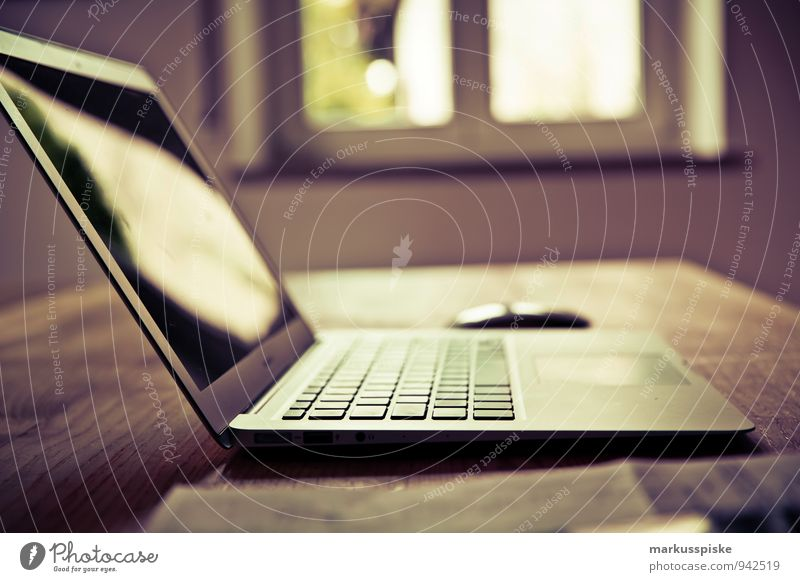 Think Office Retro Planning Hip & trendy Services Desk Notebook Vintage Advertising Industry Nerdy PDA Designer Media industry