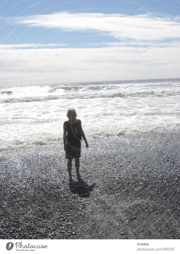 silver wave Sky Tide Beach Summer Coast Ocean Oregon coast Pasific ocean clouds Gold Beach sunlight radiant beach Wind lustre waves water Sand