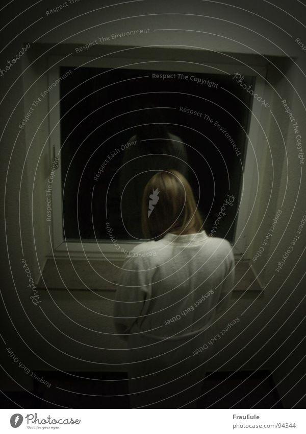 White Loneliness Dark Window Fear Empty Mirror Creepy Ghosts & Spectres  Distress Hallway Panic Motionless Sheath Mirror image Silent