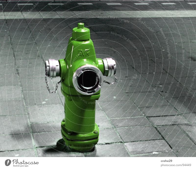 fire alarm Fire hydrant Hose Burn Erase Green Open Water for firefighting Provision Blaze fire-fighting water supply Fire department Item flushing