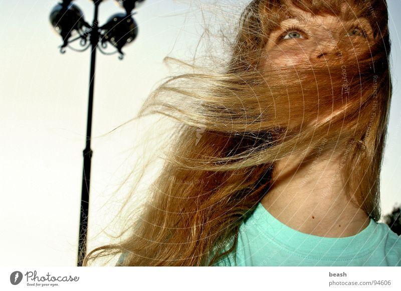 windy Blonde Sky Beige Joy Colour Wind lamp color blue Exterior shot