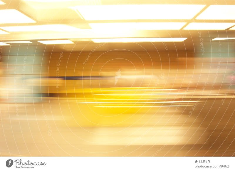 motionblur Munich Long exposure London Underground Open Means of transport Yellow Emotion design Train station longtime exposure mvv www.jHELDEN.com yHELDs