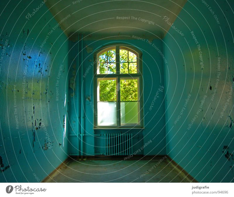 Old Colour Loneliness House (Residential Structure) Window Building Sadness Room Fear Broken Transience Derelict Shabby Entrance Plaster Ruin