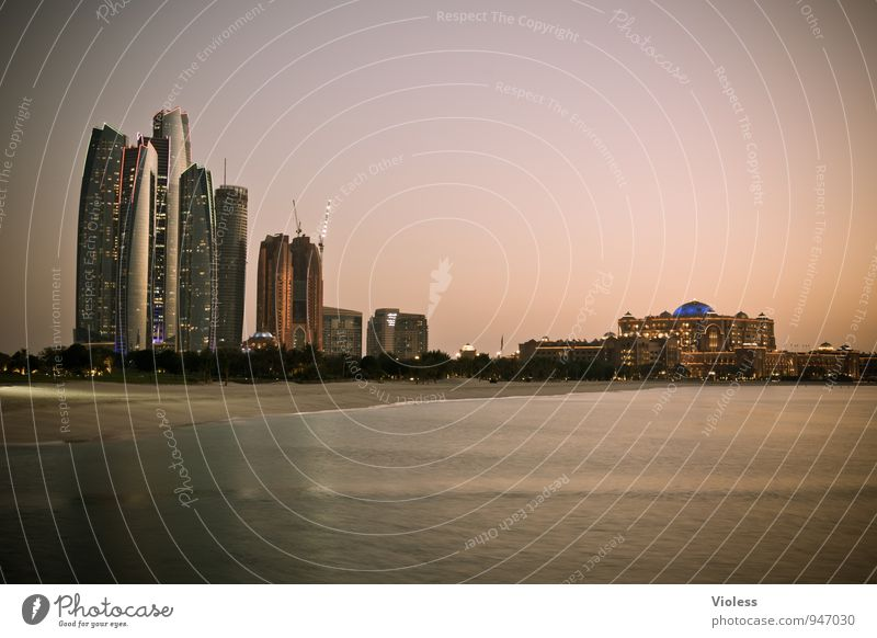skyline Capital city Skyline Dream house Tower Manmade structures Building Architecture Tourist Attraction Landmark Discover Exceptional Famousness Abu Dhabi