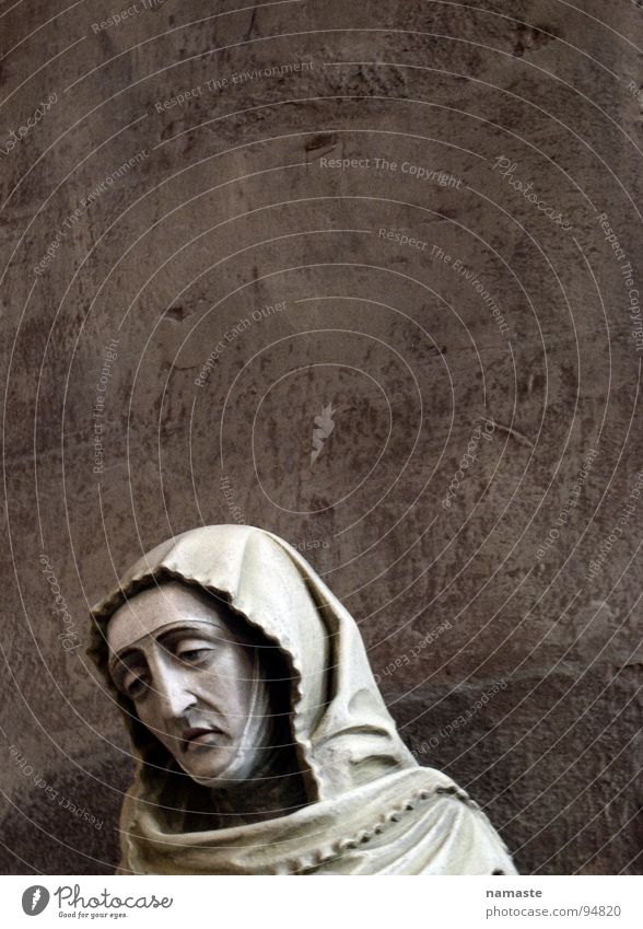 Death Sadness Think Religion and faith Grief Transience Pain Distress Jesus Christ Virgin Mary Icons
