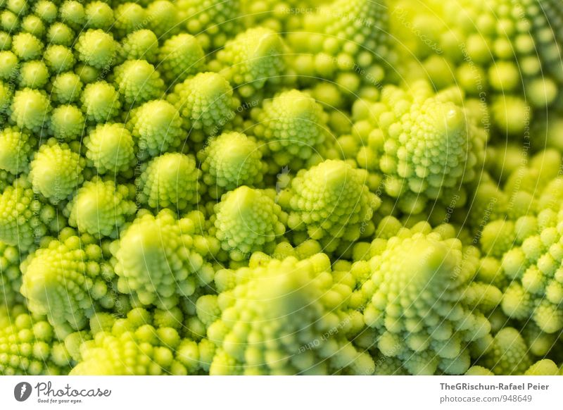 Green Landscape Yellow Mountain Food Nutrition Point Cooking & Baking Vegetable Noble Fairytale landscape Romanesco Dreamland