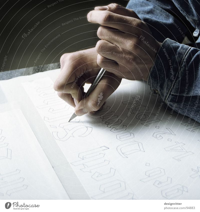 Hand Characters Letters (alphabet) Typography Craft (trade) Word Text Knives Arts and crafts  Dexterity Sculptor Craftsman Calligraphy Scalpel Men`s hand