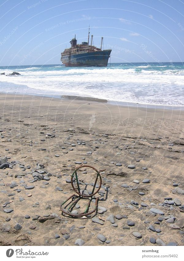 Ocean Beach Watercraft Waves Chair Fuerteventura American Star Stranded