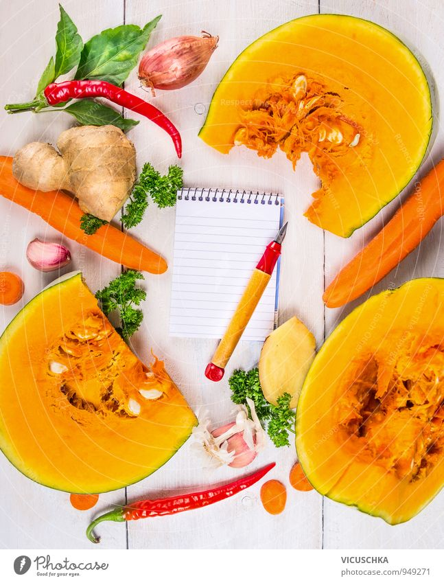 Pumpkin Soup Ingredients Write Recipe Food Vegetable Herbs and spices Nutrition Lunch Dinner Organic produce Vegetarian diet Diet Design Healthy Eating Life