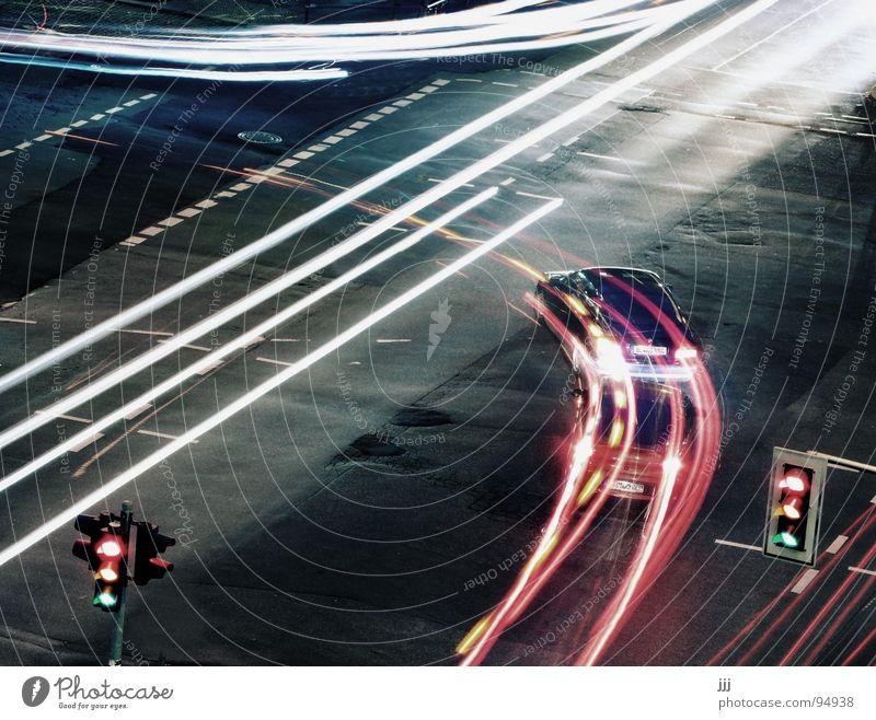 hunting scene Traffic light Radius Transport Simultaneous cross Car Light Arch Lighting left turn-off Street blink