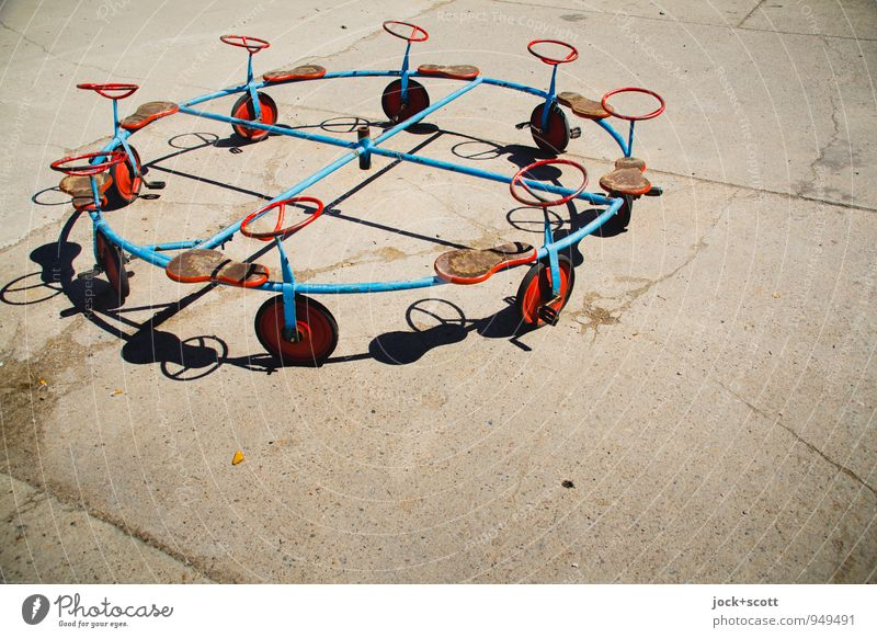 opportunities round in circles Joy Playing Exceptional Line Group Metal Circle Beginning Uniqueness Retro Target Toys Mobility Whimsical Geometry Nostalgia