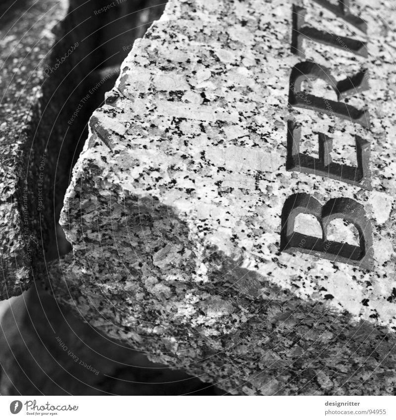 Broken Transience Destruction Forget Cemetery Grave Tombstone