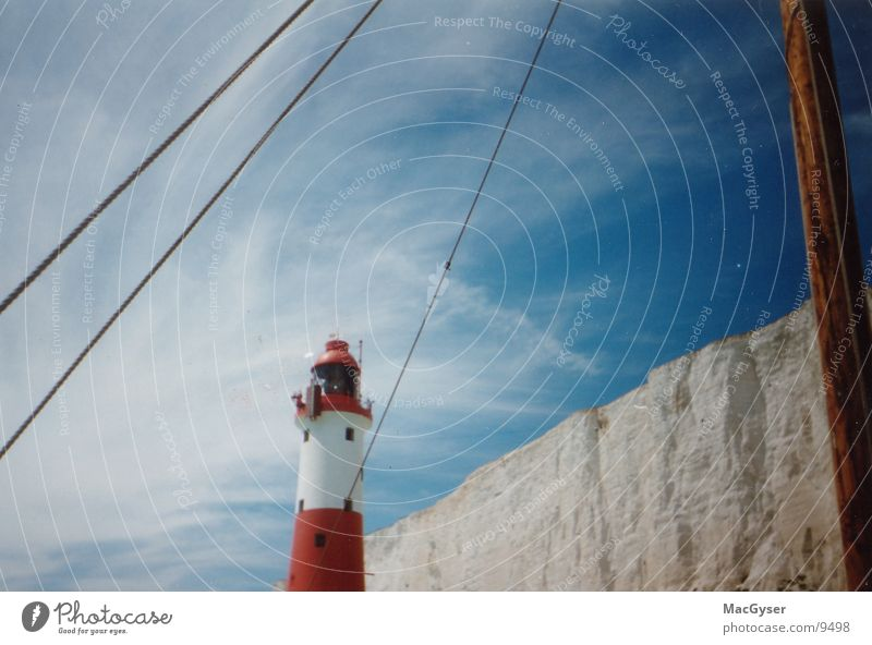 lighthouse England Watercraft Ocean Architecture Signal Sky
