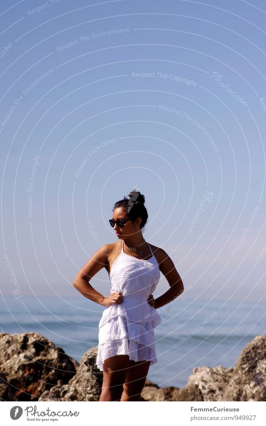 Mademoiselle_14 Feminine Young woman Youth (Young adults) Woman Adults Human being 18 - 30 years Esthetic Nature Beautiful Summer vacation Relaxation Break