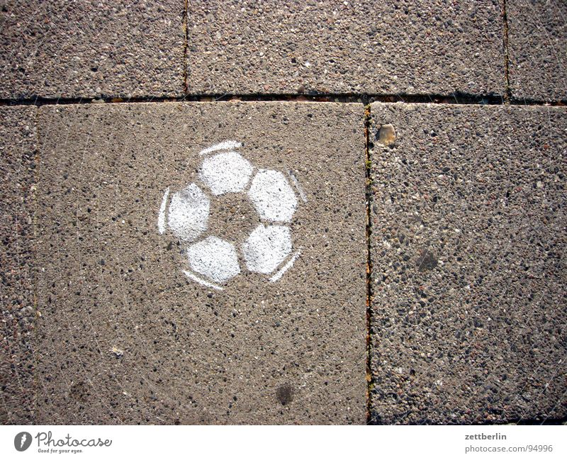White Sports Playing Graffiti Ball Sidewalk Traffic infrastructure Seam Street art Paving tiles Spray Skid marks Imprint Mural painting Vandalism Tagger
