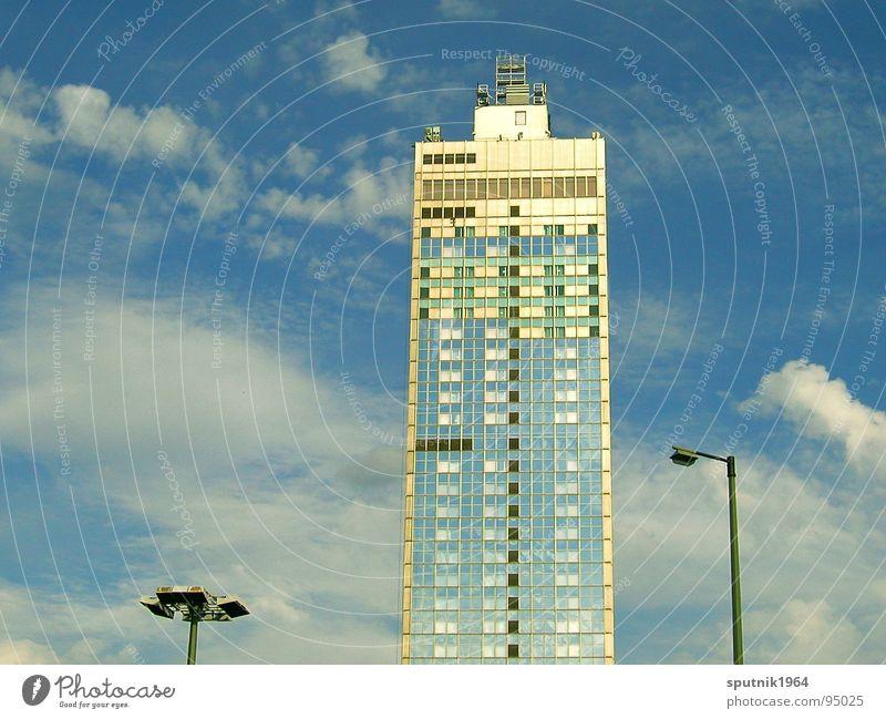 Sky Berlin Architecture High-rise Facade Hotel GDR East Alexanderplatz