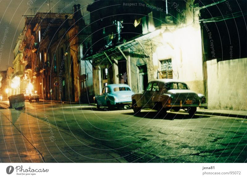 Vacation & Travel Street Car Cuba Historic Traffic infrastructure South America Havana
