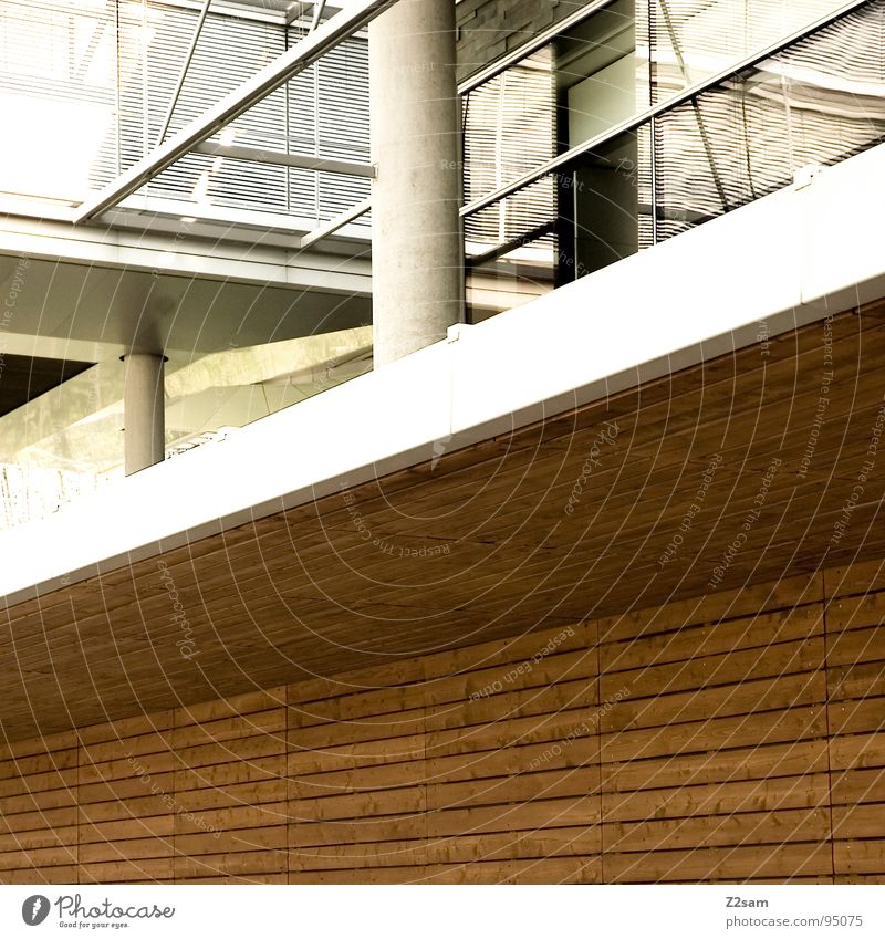 Style Window Wood Building Line Architecture Glass Modern Simple Geometry Pole Direct Parallel Minimal Disk
