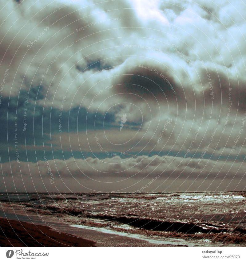 Nature Joy Beach Coast Art Horizon North Sea Dramatic Arts and crafts