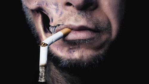 smoking kills Beautiful Face Healthy Health care Illness Smoking Intoxicant Alcoholic drinks Medication Hallowe'en Human being Threat Dirty Dark Thin