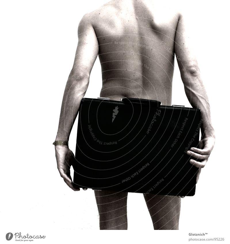 Human being Man Hand Legs Business Skin Arm Back Fingers Stand Leather Bag Shoulder Suitcase Door handle Knee