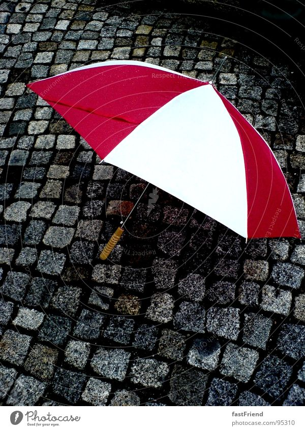 Water White Red Autumn Stone Rain Wet Umbrella Thunder and lightning Door handle Paving stone Minerals