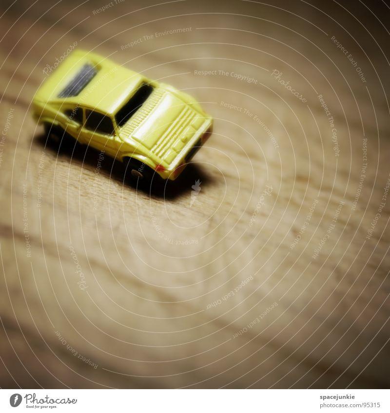 Joy Wood Car Line Speed Driving Toys Forwards Miniature Racing car Model car