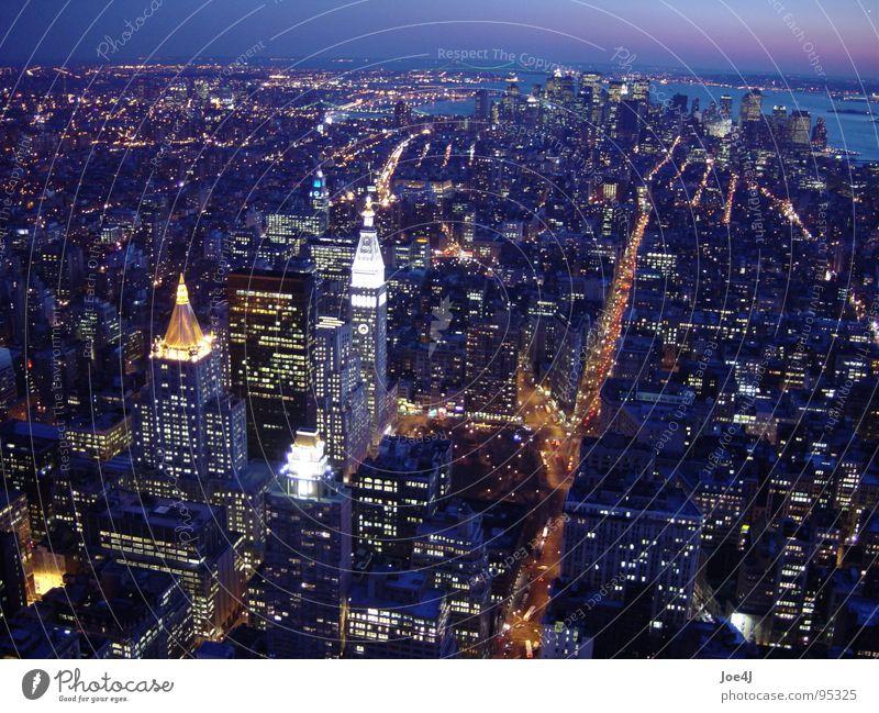City USA Traffic infrastructure Downtown New York City Manhattan Broadway