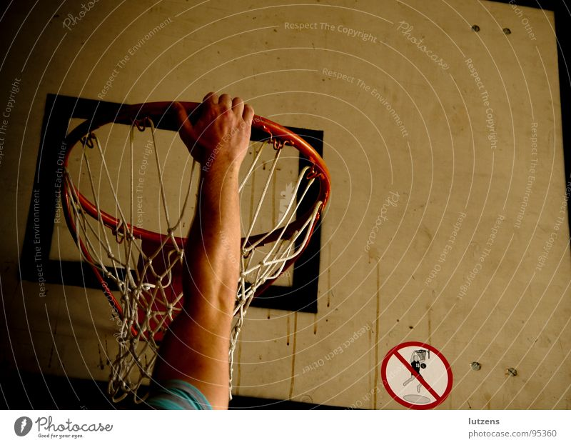 Hang me up to dry! Gymnasium Bans Score Sports Playing Basketball Catch Relaxation