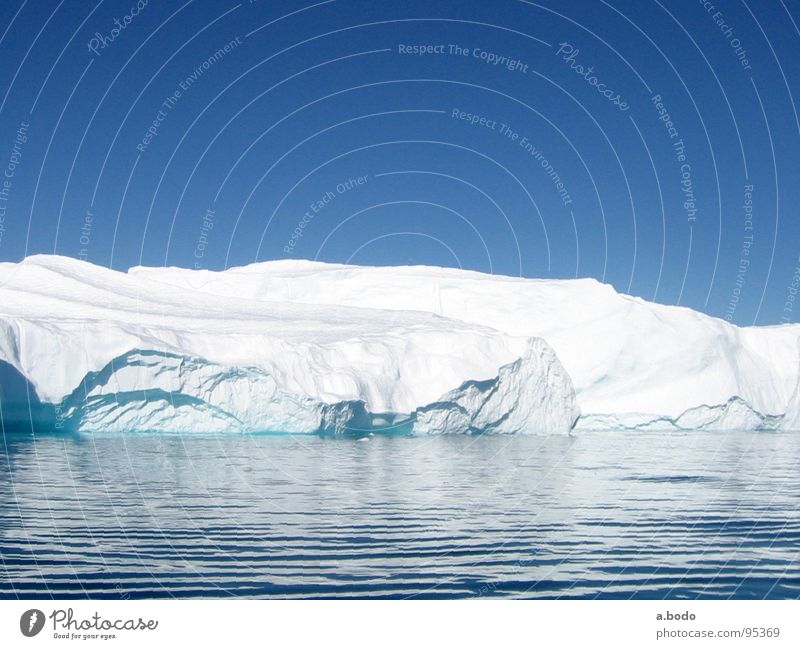 Cool Water II Greenland Jakobshavn Iceberg Ocean Sky Mountain Greenland Disko Bay greenland-discobay growler Alpine pasture mountains sun