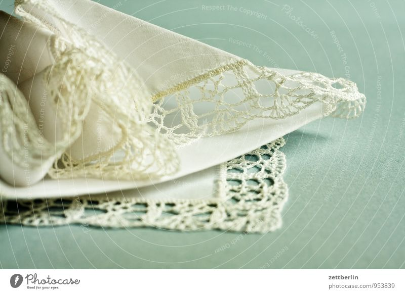 Grandma Herta Cotton Fine Handcrafts Crochet Arts and crafts  Easy Lace Handkerchief wallroth White Delicate make pillow lace Tradition Border Corner Rag