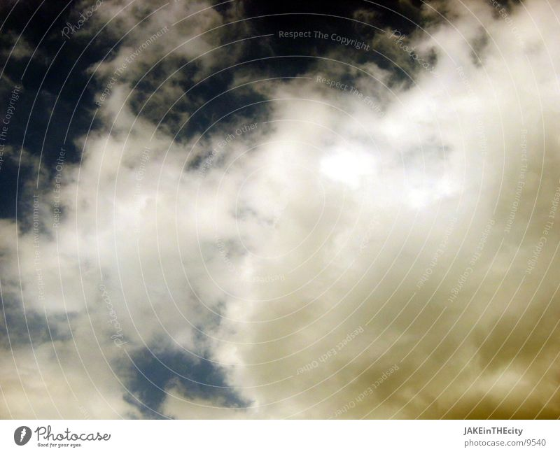 some_clouds Clouds Bad weather Moody White Yellow Gale Sky Nature Blue