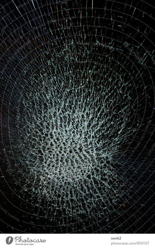 big bang theory Shop window Pane Window pane Broken Glass Threat Gigantic Rebellious Trashy Blue Black Dangerous Stress Bizarre Crisis Anger Destruction