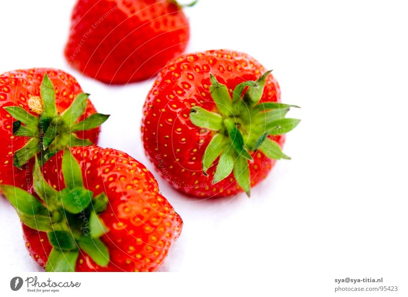 strawberries Red Fruit fresh group Multiple fruits