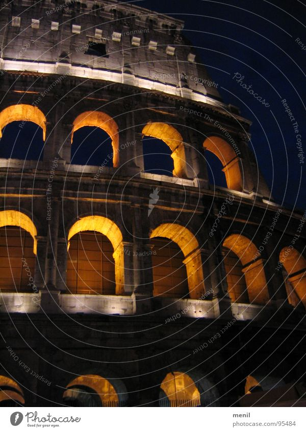Arena Rome Monument Light Ruin Italy Art Colosseum Landmark Shadow Old Tourist Attraction