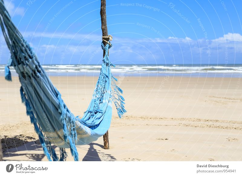 Sky Vacation & Travel Blue White Water Summer Sun Relaxation Ocean Landscape Calm Clouds Beach Far-off places Yellow Coast