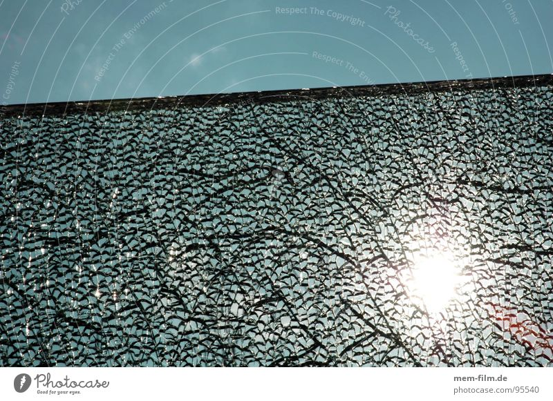 Nature Sky Sun Blue Jump Window Bright Fear Glass Broken Trash Clarity Part Broken Window pane