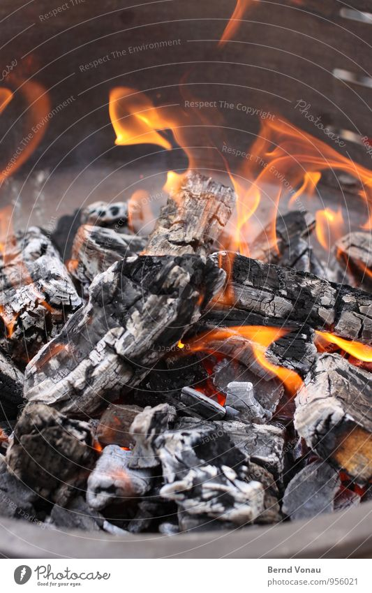 White Black Yellow Warmth Orange Nutrition Fire Smoke Hot Steel Barbecue (event) Flame Burn Heat Holiday season Embers