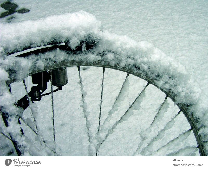 Bike In Snow Bicycle snow cold ventiel