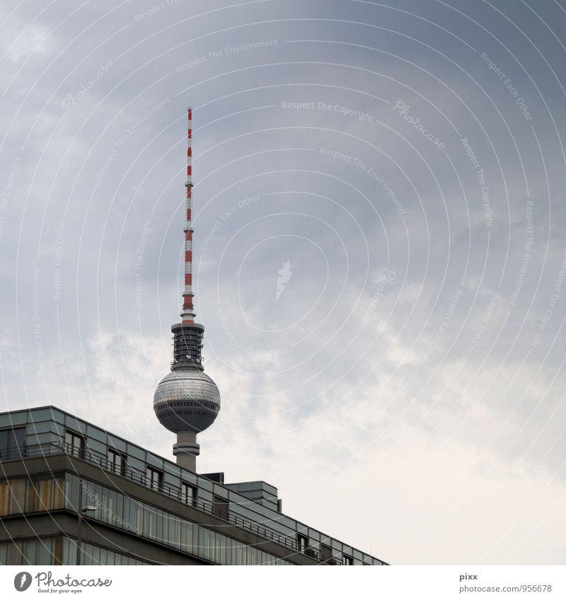 Vacation & Travel Blue City Architecture Gray Berlin Metal Lifestyle Tourism Glass Technology Concrete Trip Point Profession TV set