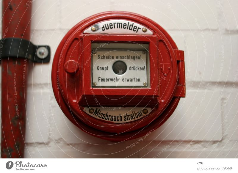 fire alarms Red Buttons Electrical equipment Technology Blaze Window pane