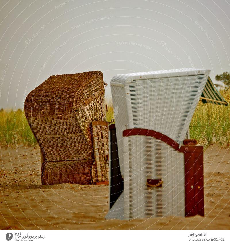 White Ocean Green Beach Vacation & Travel Yellow Colour Relaxation Sand Brown 2 Coast Beach dune Baltic Sea Beach chair Darss