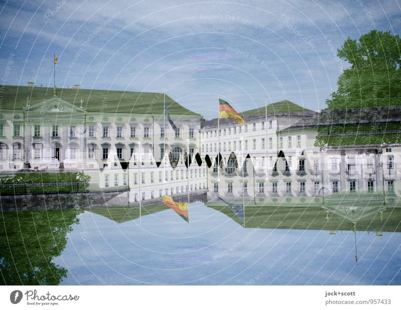 Bellevue Palace 2 Luxury Elegant City trip Early classical period Sky Summer Tree Berlin zoo Capital city Tourist Attraction Schloss Bellevue Exceptional
