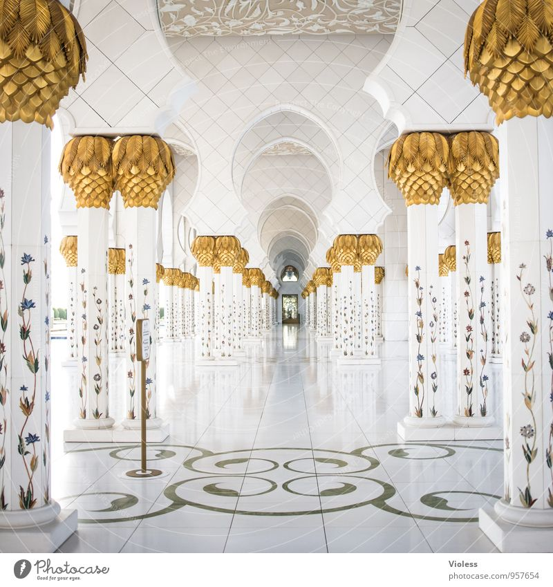 pure light Capital city Manmade structures Building Architecture Tourist Attraction Landmark Monument Kneel Dream Esthetic Exceptional Historic Clean White