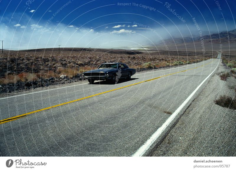 on the road Horizon Motoring Loneliness Empty Background picture Vacation & Travel Wanderlust Red Black Uninhabited Right ahead Americas F-16 Thunderbird Dry