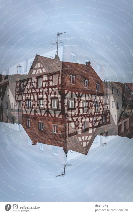 small world Village House (Residential Structure) Detached house Building Half-timbered house Half-timbered facade Wall (barrier) Wall (building) Window Roof