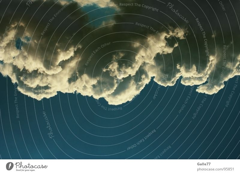 Beautiful Sky Clouds Weather Open Hollow Hang Vista Cumulus Absorbent cotton