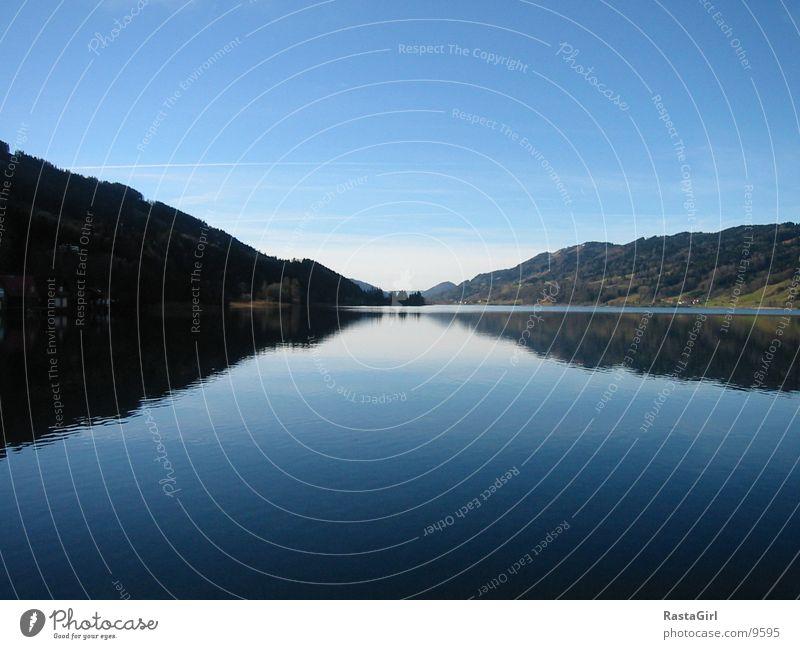 Water Blue Mountain Lake