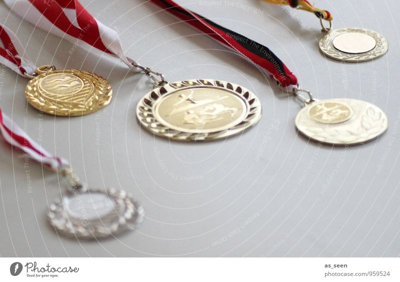 shower of medals Sports Sportsperson Sporting event Award ceremony Cup (trophy) Success Medal Swimming & Bathing Gymnastics Schoolchild Certificate Infancy Life